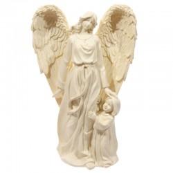 Crèmekleurige Engel met kind